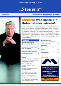 ePaper Cover - Steuern 2008