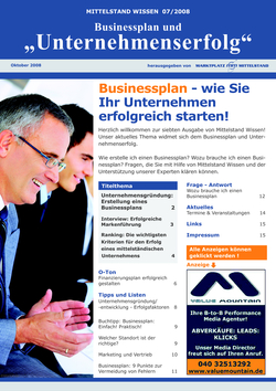 ePaper Cover - Businessplan 2008