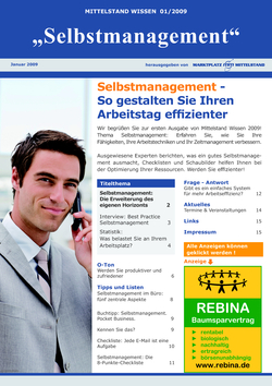 ePaper Cover - Selbstmanagement 2009