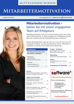 ePaper Cover - Mitarbeitermotivation 2009