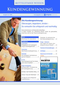 ePaper Cover - Kundengewinnung 2009