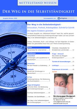 ePaper Cover - Selbstständigkeit 2009