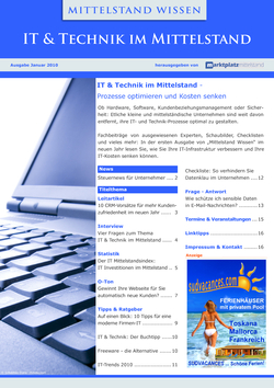 ePaper Cover - IT & Technik 2010
