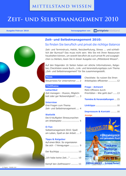 Cover Zeitmanagement