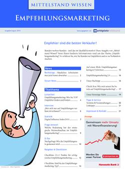 ePaper Cover - Empfehlungsmarketing 2010