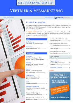 ePaper Cover - Vertrieb & Vermarktung 2010
