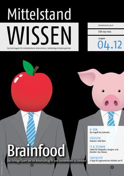 ePaper Cover - Gesundheit im Job 2012