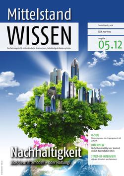 ePaper Cover - Nachhaltigkeit & CSR 2012