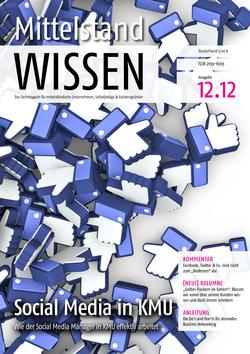 ePaper Cover - Social Media für KMU 2012