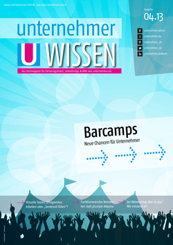 Cover Unkonferenzen, BarCamps, Coworking