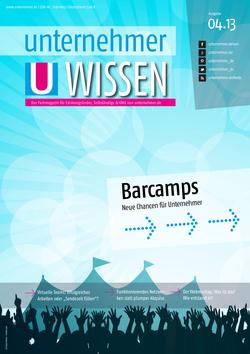 ePaper Cover - Unkonferenzen, BarCamps, Coworking 2013
