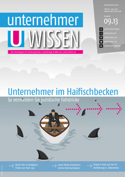 ePaper Cover - Recht für Unternehmer 2013