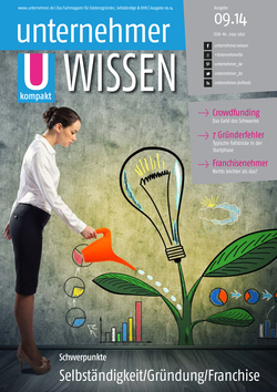 ePaper Cover - Gründung, Selbständigkeit, Franchise 2014