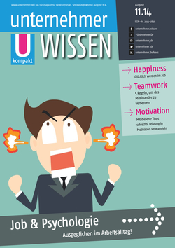 ePaper Cover - Job & Psychologie 2014