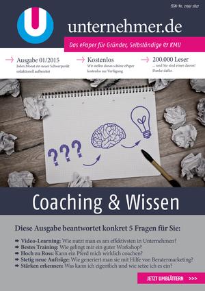 ePaper Cover - Coaching & Wissen 2015