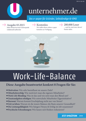 ePaper Cover - Work-Life-Balance 2015