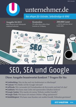 ePaper Cover - SEO, SEA und Google 2015