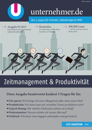 ePaper Cover - Zeitmanagement & Produktivität 2015