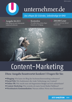 ePaper Cover - Content-Marketing 2015