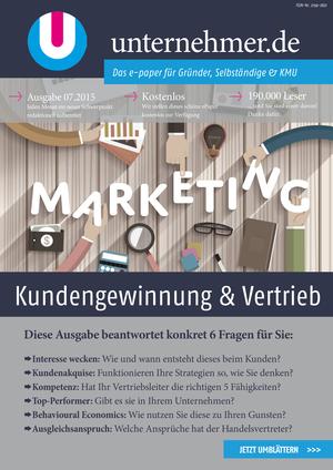 ePaper Cover - Kundengewinnung & Vertrieb 2015
