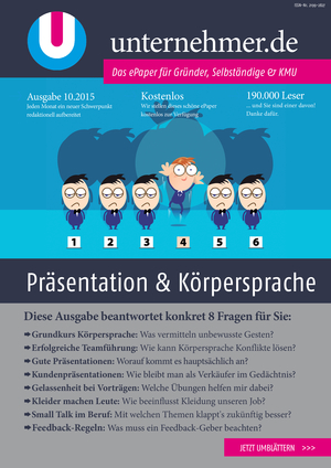ePaper Cover - Präsentation & Körpersprache 2015
