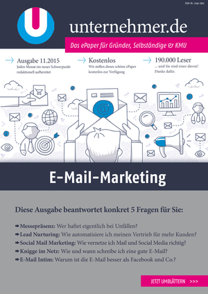 ePaper Cover - E-Mail-Marketing 2015