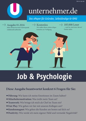 Cover Job & Psychologie
