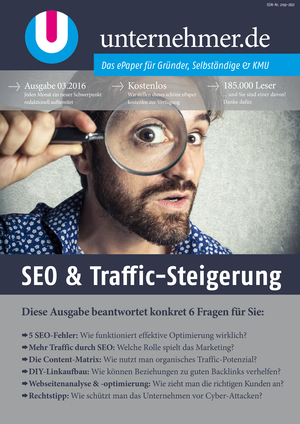 ePaper Cover - SEO & Traffic-Steigerung 2016