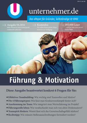 ePaper Cover - Führung & Motivation 2016
