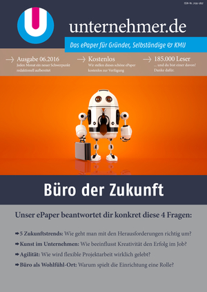 Cover Büro der Zukunft