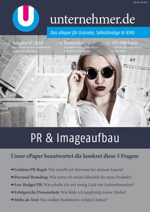 Cover PR & Imageaufbau