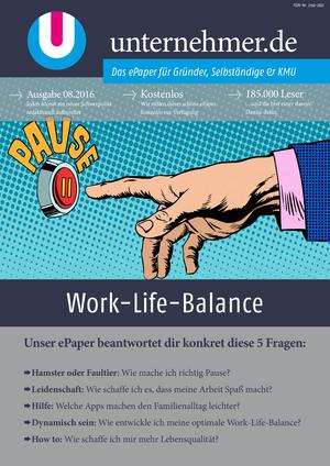 ePaper Cover - Work-Life-Balance 2016
