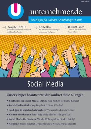 ePaper Cover - Social Media 2016