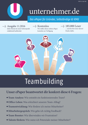 ePaper Cover - Teambuilding 2016