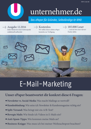 ePaper Cover - E-Mail-Marketing 2016