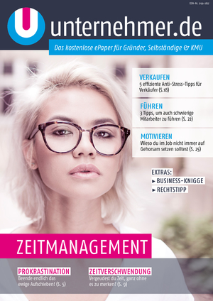 ePaper Cover - Zeitmanagement 2017