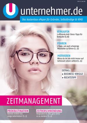 ePaper Cover - Zeitmanagement 2017