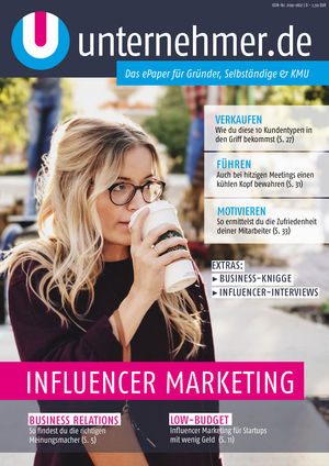 ePaper Cover - Influencer Marketing 2017