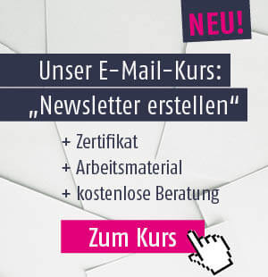 E-Mail-Kurs: Newsletter erstellen