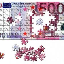 500 Euro Schein Puzzle