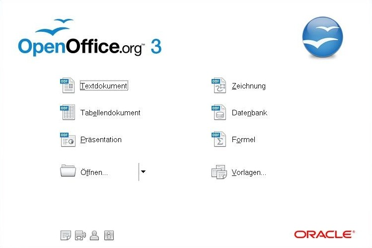 Der OpenOffice Start-Wizard