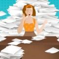 In Ihrem Büro regiert das Chaos? Erobern Sie Ihren Arbeitsplatz zurück! [Infografik]