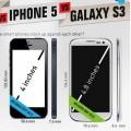 iPhone 5 vs. Galaxy S3