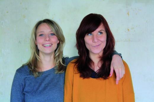 Die Gründerinnen Sophie und Catharina von supercraft