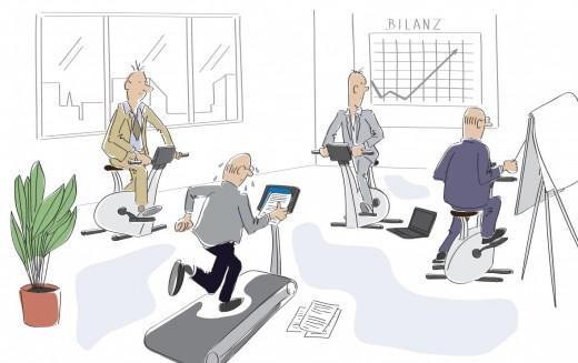Gesundes Unternehmen durch gesunde Mitarbeiter