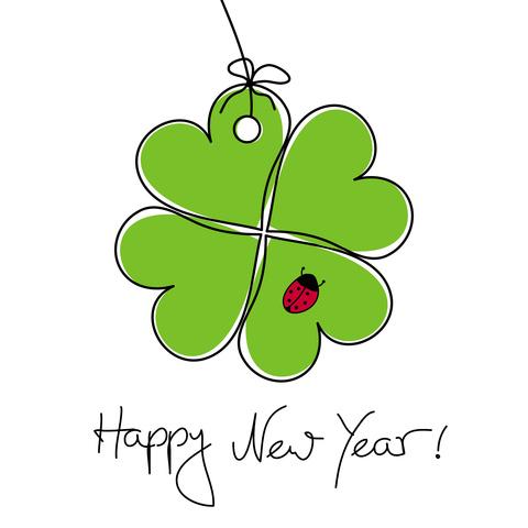 Viel Glück im neuen Jahr!