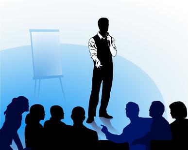 Das Geschäft mit Vorträgen und Events für Unternehmen