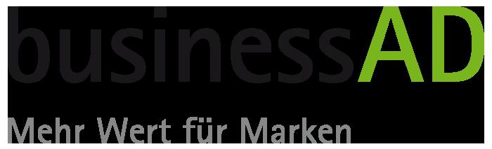 Bussines AD Logo Banner Vermarkter