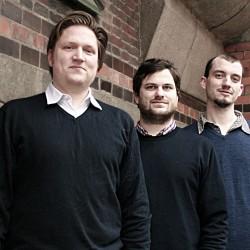 Das Gründerteam von audioguideMe: v.l. Hannes Wirtz, Christoph Tank, Paul Bekedorf