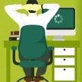 Zeitverschwendung am Arbeitsplatz